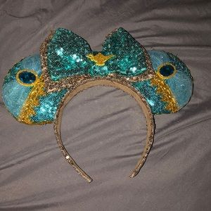 Mickey Mouse ears as jasmine the princess